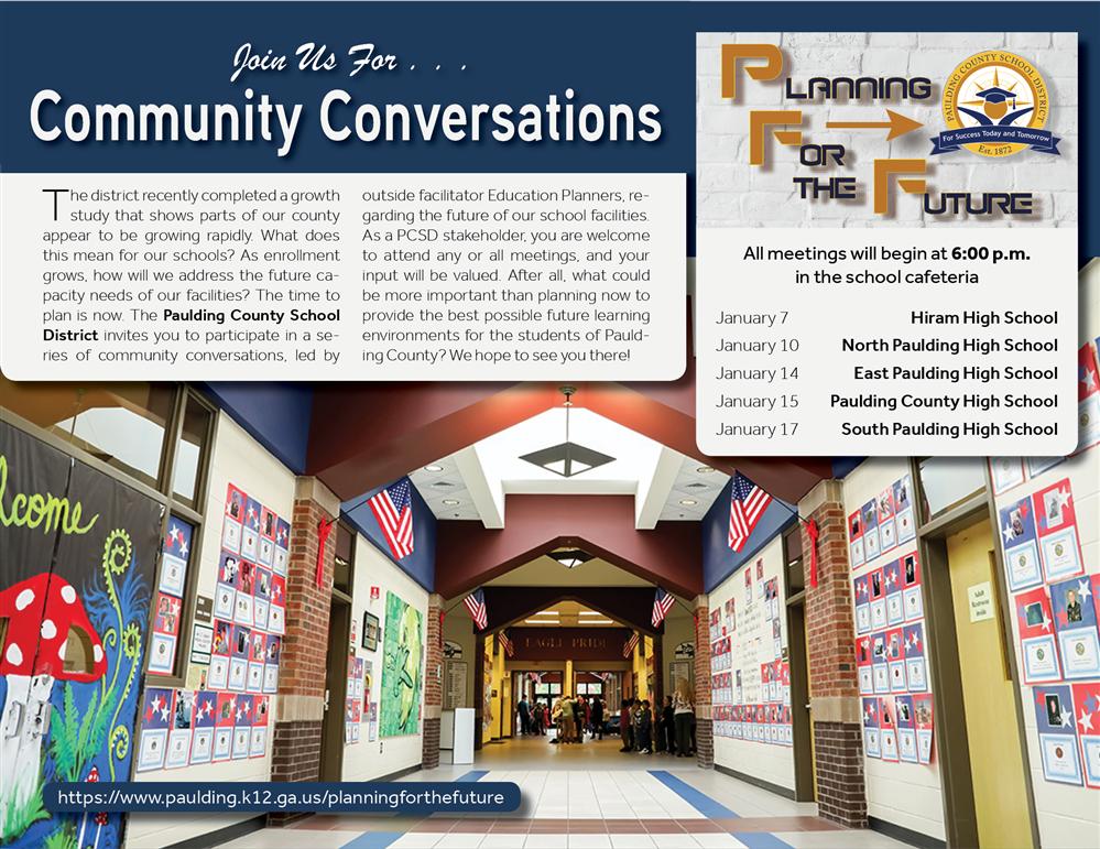 Paulding County School District Homepage