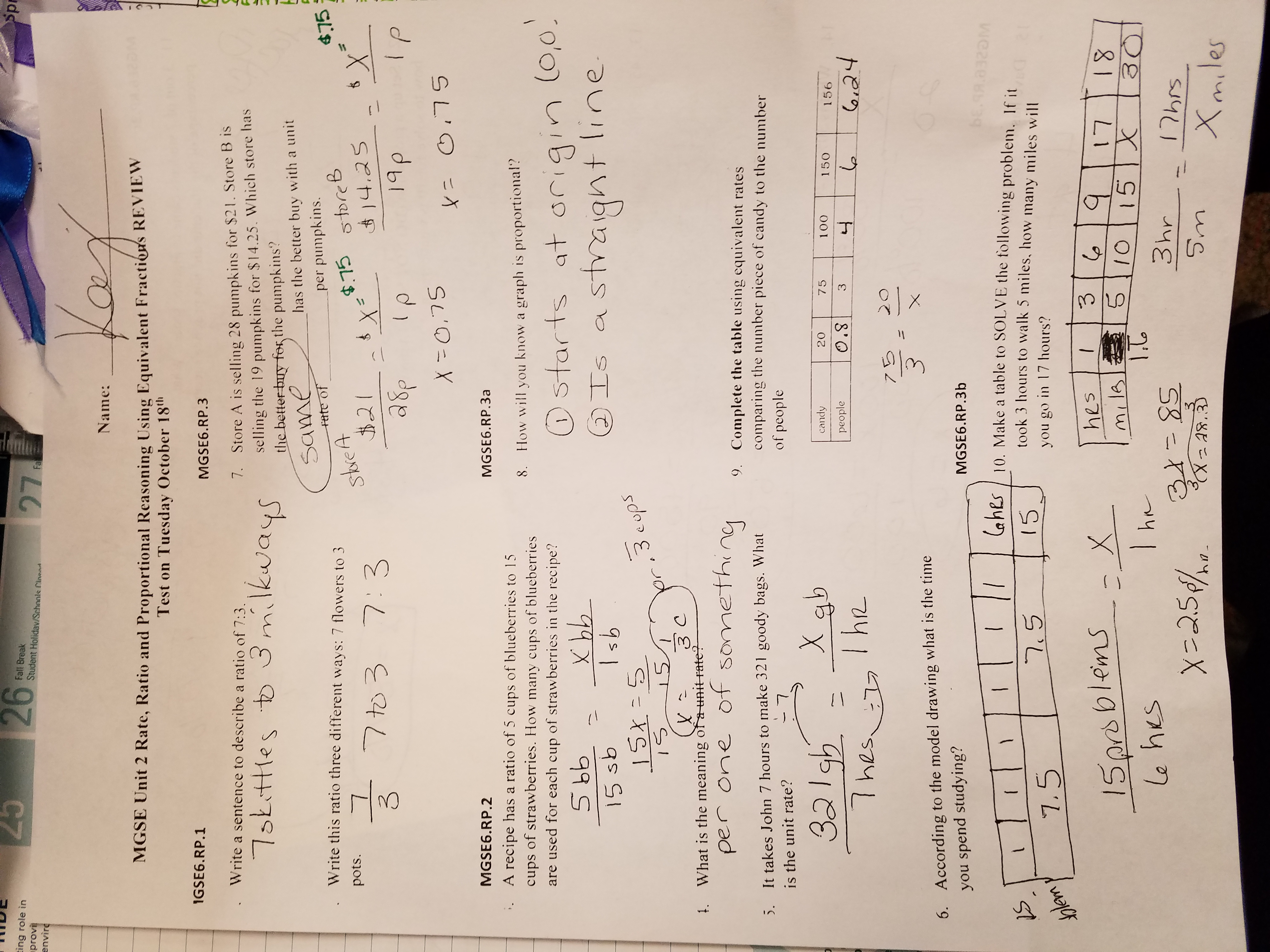 Unit 5 Systems Of Equations Inequalities Answer Key Gina ...