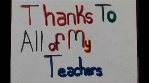 Thank You PCSD Teachers and Employees
