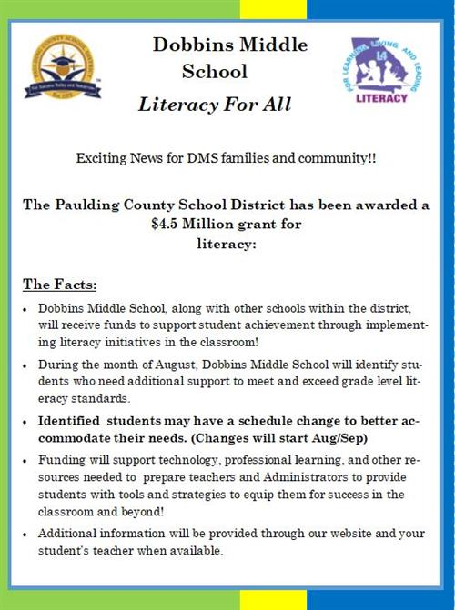 Literacy for All!