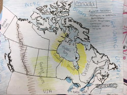 Map Of Canada 6th Grade.Mulligan Heather Class Homepage