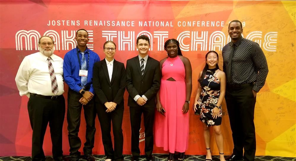 PC Students attend Jostens Renaissance National Conference in July