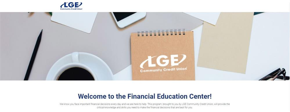 LGE Community Credit Union- Financial Education Center Information