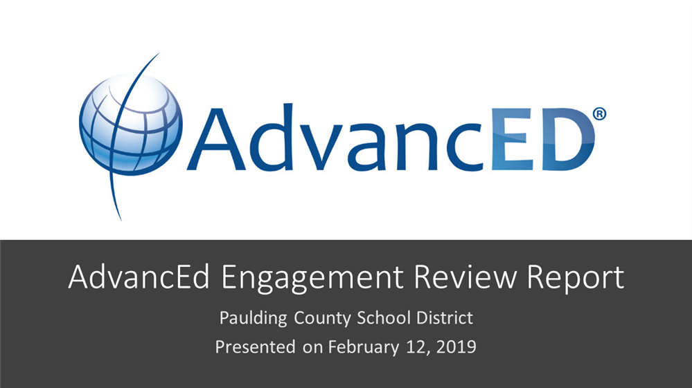 AdvancED Renews District's Accreditation
