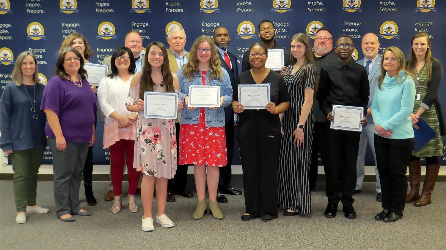 School Board Recognitions March 10, 2020