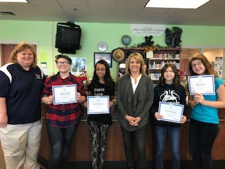 Four McClure Students Take Top Honors in Writing Contest