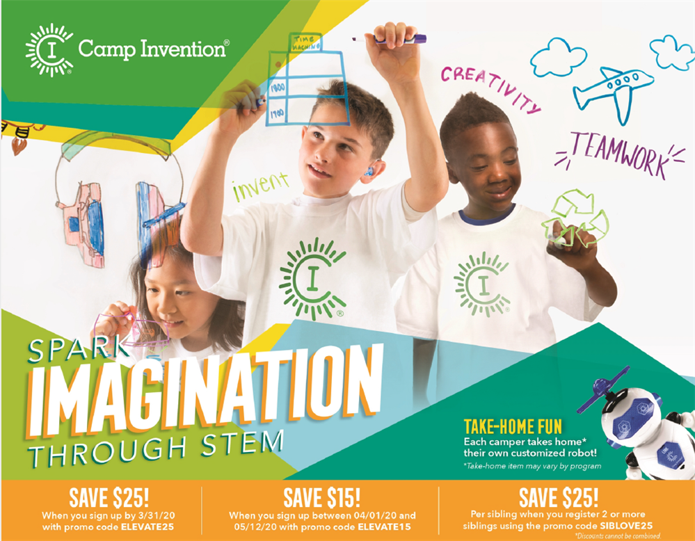 Camp Invention is Back!