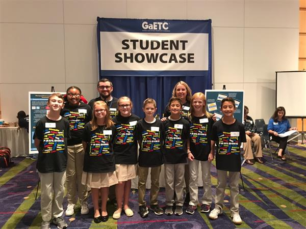 Baggett and McGarity Students Present at the Georgia Education Technology Conference