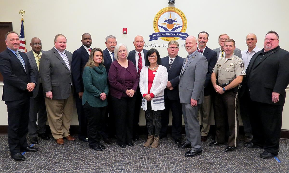 The Board of Education welcomed public officials who have helped sponsor  and promote the successful Alcohol & Drug Awareness Program that has  reached ...