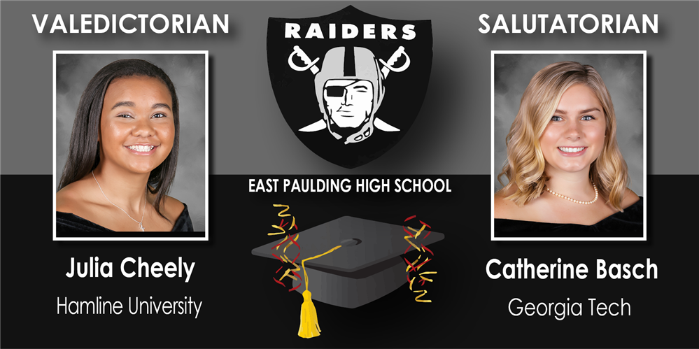 High Schools Name Valedictorians & Salutatorians