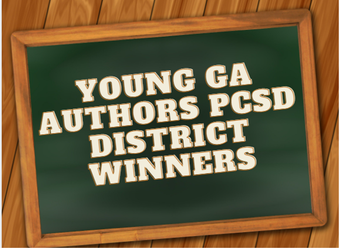 PCSD Young Georgia Authors Named