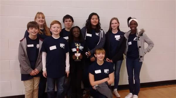 Dobbins Academic Team Places 2nd at Regionals