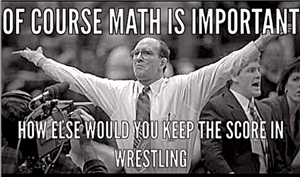 Math and Wrestling