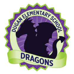 Dr. Connie Dugan Elementary Logo